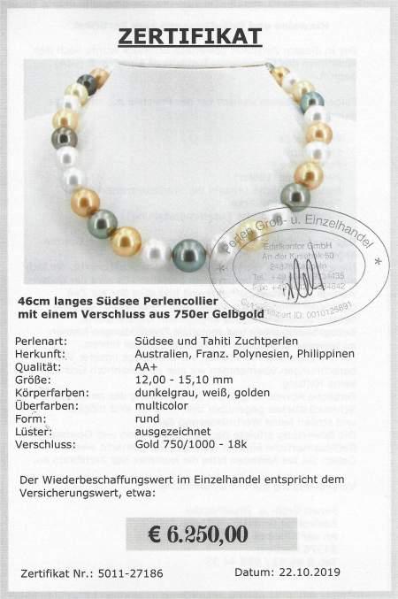 Südsee Perlen Collier vom Edelkontor