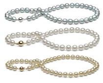 Akoya Perlen, Perlenkette vom Edelkontor
